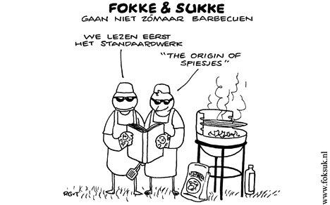 Fokke & Sukke gaan niet zómaar barbecuen